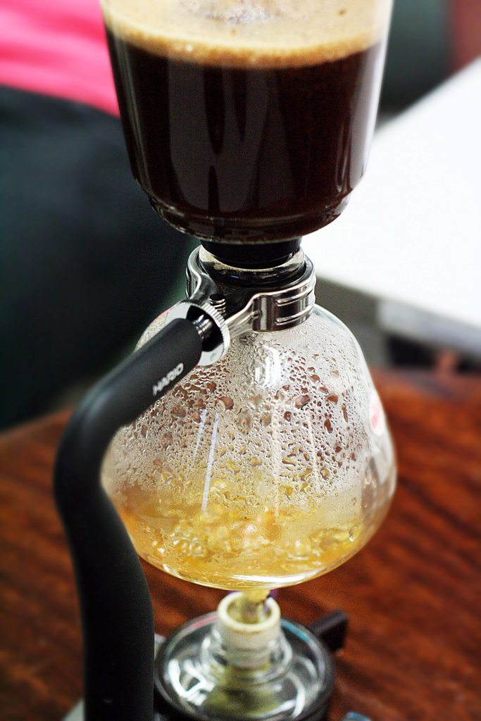 Siphon Vac Pot Brewing at Philippine Barista & Coffee Academy, Inc.