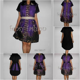 ~ ALINE DRESS BATIK KATUN ~