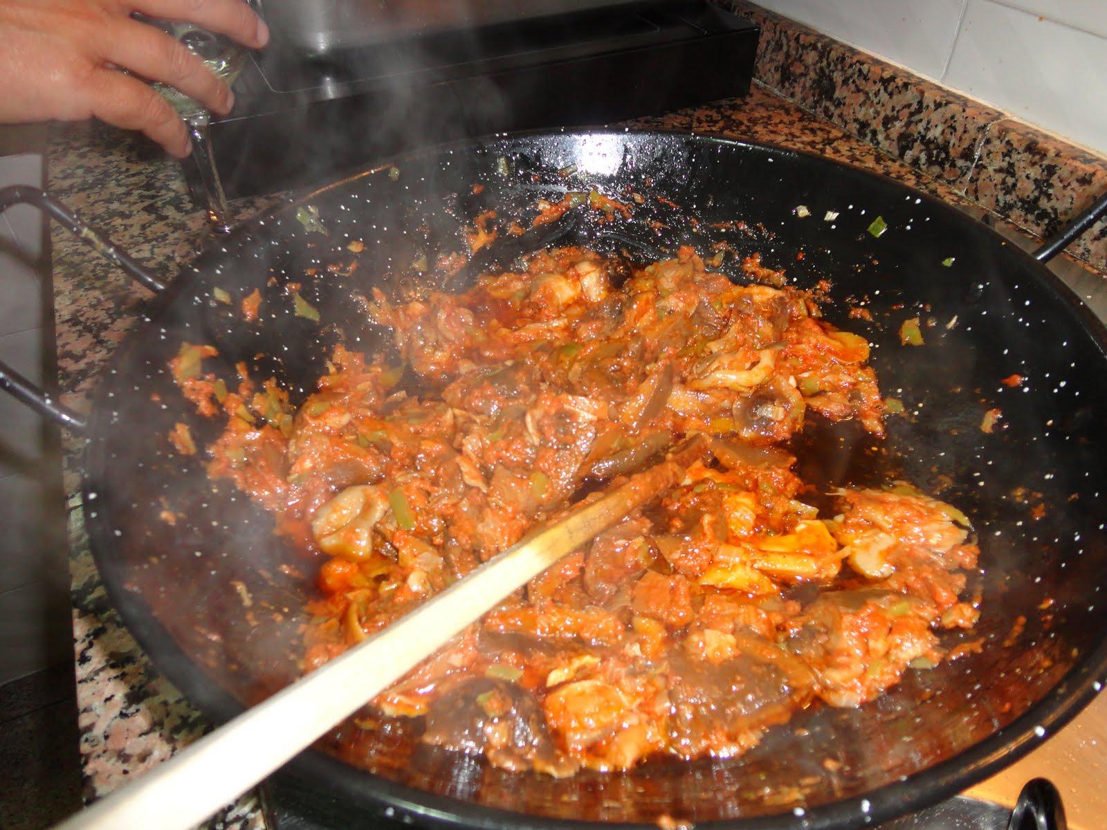 how to make gazpacho de bacalao