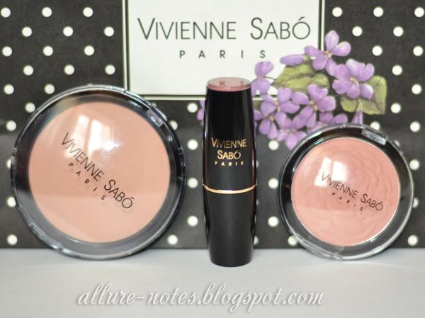 Новинки Vivienne Sabo: увлажняющая пудра, помада и румяна