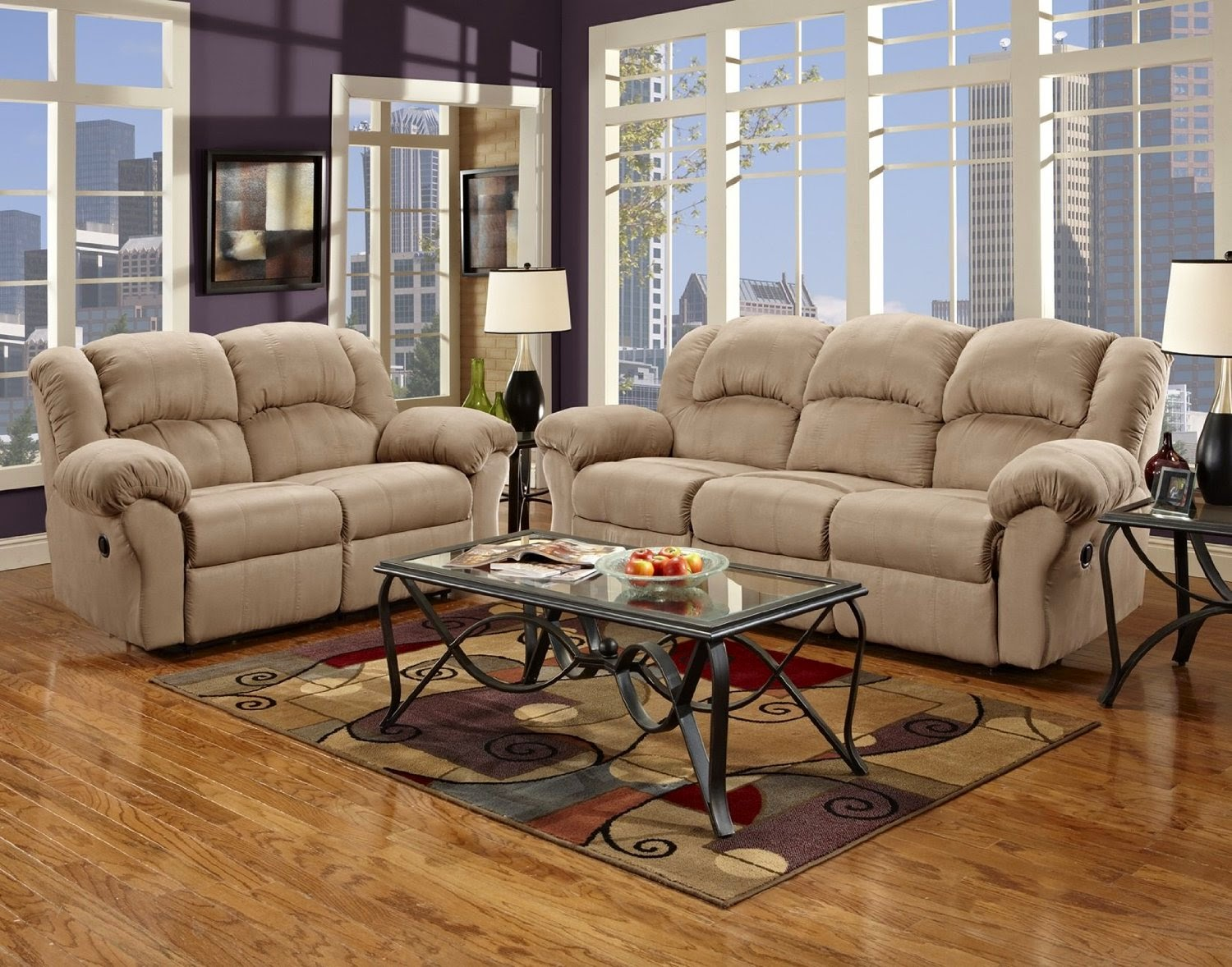 Reclining Sofa Loveseat Sets