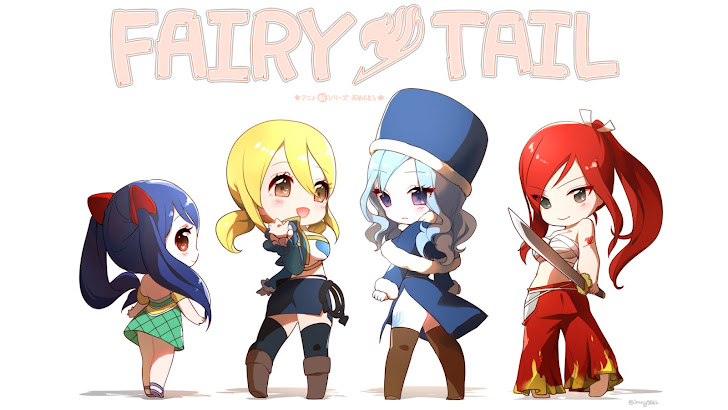Fairy Tail Chibi Girls