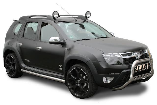 Darkster,Dacia models,Renault-Nissan Alliance,Dacia Duster,SUV, Elia,sports suspension,