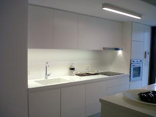 Iluminacion e p s i otros trabajos nuestros con leds - Iluminacion led en cocinas ...