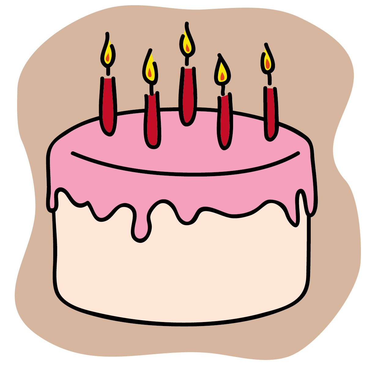 Clip Art Images For Cake : ^^ stay happy