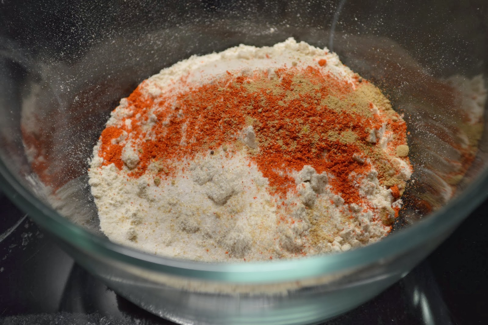 Wheat Flour, salt and spices