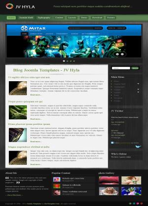 Share template JV Hyla - Joomla 1.5