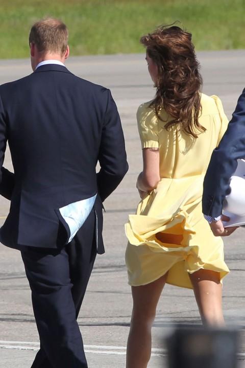 Kate Middleton et William Paris : Ttaniss par le