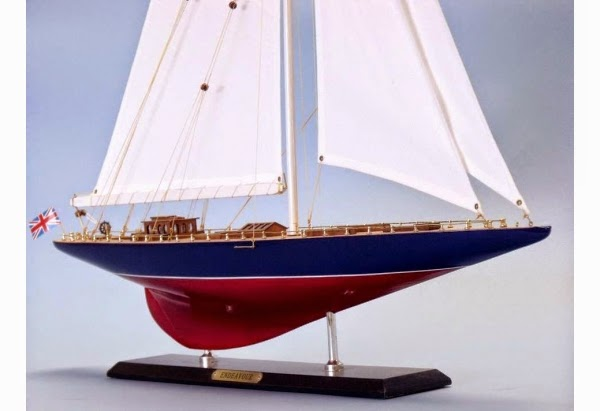 America'S Cup Endeavour Model