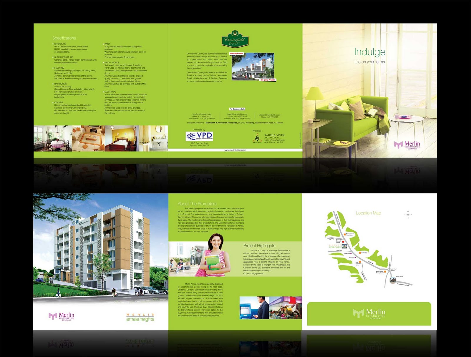 Apartment Brochure Design C & O Adventures Brochure Design For Apartment Complex