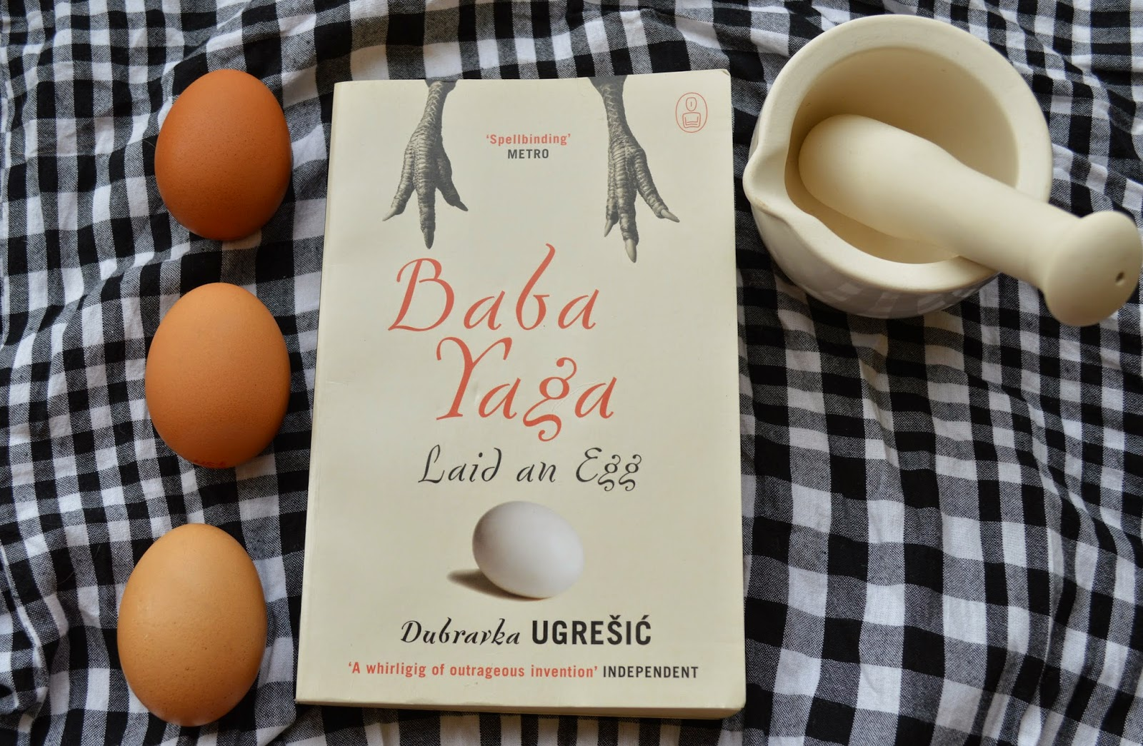 baba yaga laid an egg, Dubravka Ugresic, Slavic fairytales, Cannongate, myths, legends, folktale, review, UK edition, book, literature, photo, photograph, Baba Yaga, witch, Russian, Bulgaria, Croatia