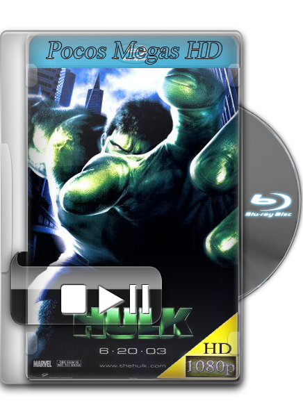 El increible hulk [BRrip 1080p] [Audio Dual Latino] [2003]
