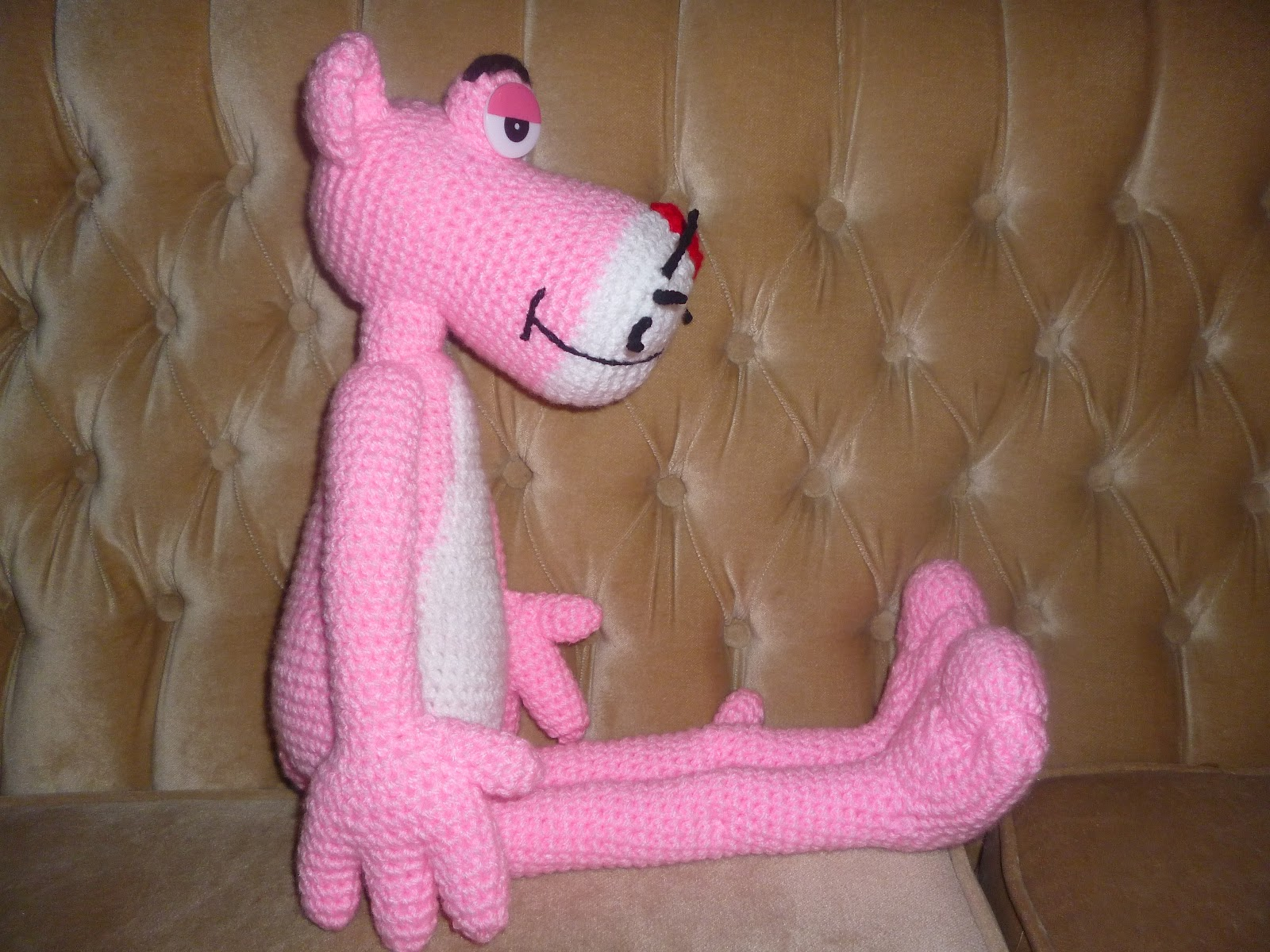MYA CROCHET: Pantera rosa