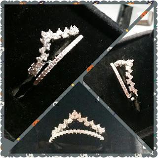 Cubic Zirconia Princess Cut Diamond Rings