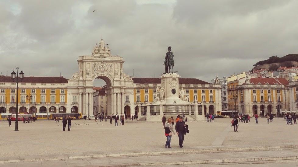 Plaza del Comercio Lisboa. Las Plazas más bonitas de Europa