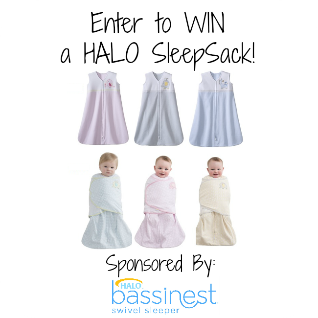 Enter to #WIN a HALo SleepSack! Open to US/CAN. #Giveaway Ends 9/10