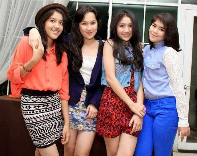 Foto girlband Blink