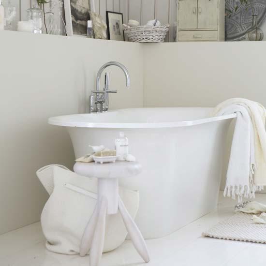 how to make a bathroom look like a spa