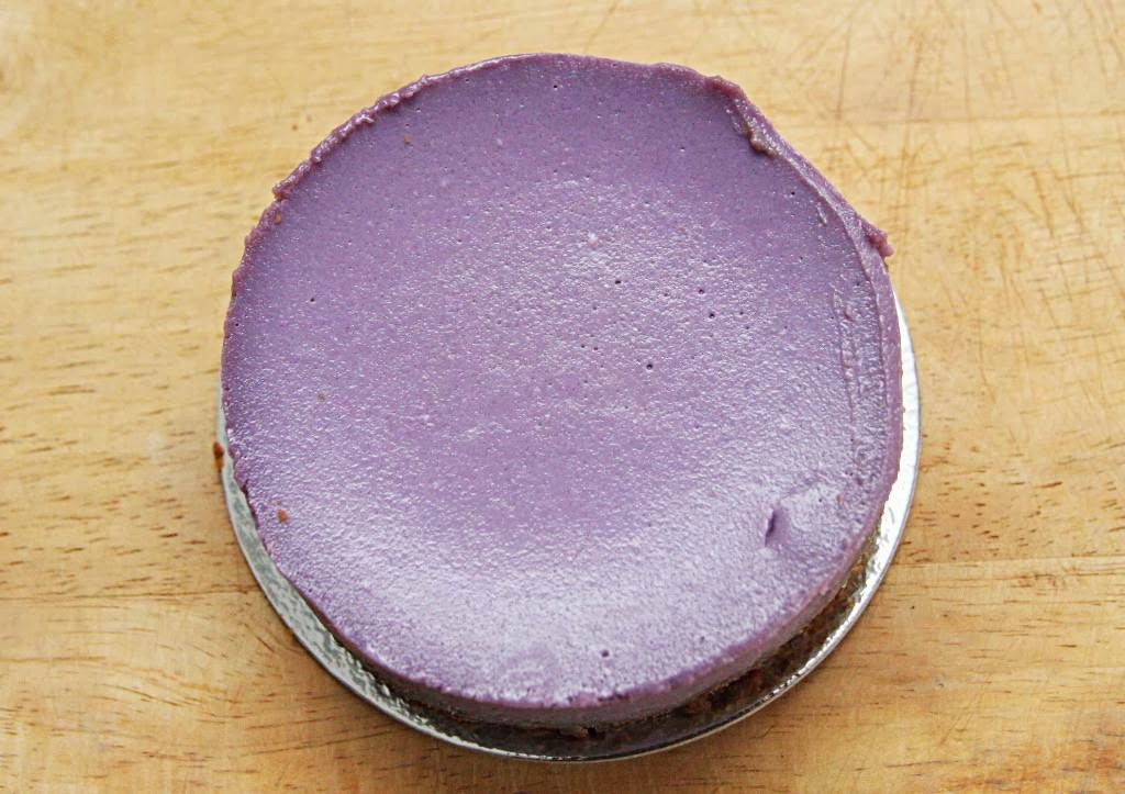 Ube Cheesecake Indulgence by Irene