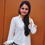 Sheena Shahabadi in White Shirt & Jeans Photos