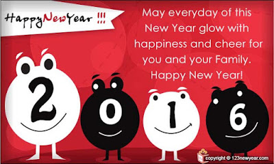 Happy New Year Cards 2016 | E Greetings | Wishes  USA, UK Download