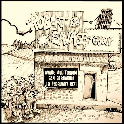 Robert Savage Group - 1971-02-19- Swing Auditorium, Orange Show Fairgrounds,San Bernadino, CA - Soundboard - Wave)