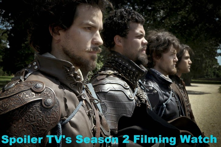 The Musketeers - Season 2 - Filming Updates & Speculation [UPDATED 26/11/14]