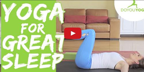 Yoga for Sleep Insomnia or Deep Relaxation