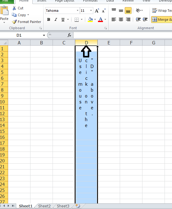 excel how to make formula for entire column