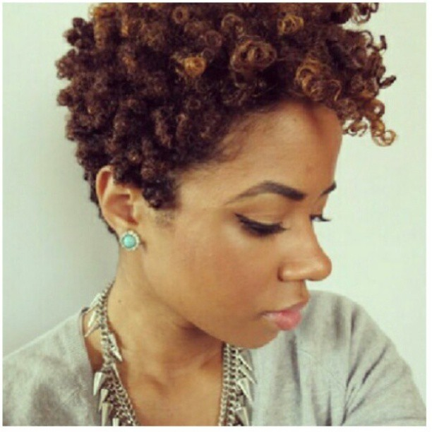 Naturally Happy Hair: Short Natural Hair Styles HAIRspiration