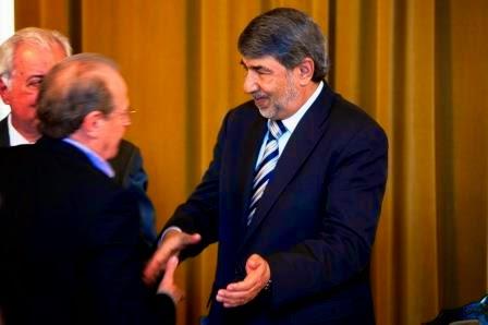 Governador Tarso Genro e Ibrahim Al Zeben, embaixador da Palestina