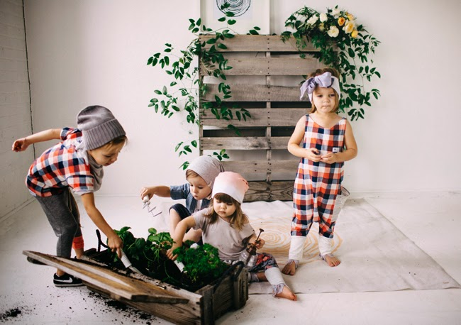 Kindred OAK Spring 2015 unique kidswear collection
