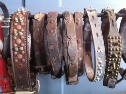 Antique Mastiff Collars