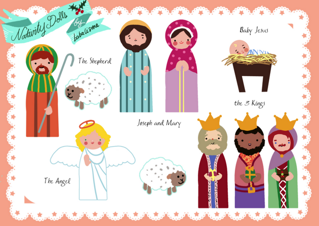 Enterprising image with regard to free printable nativity scene