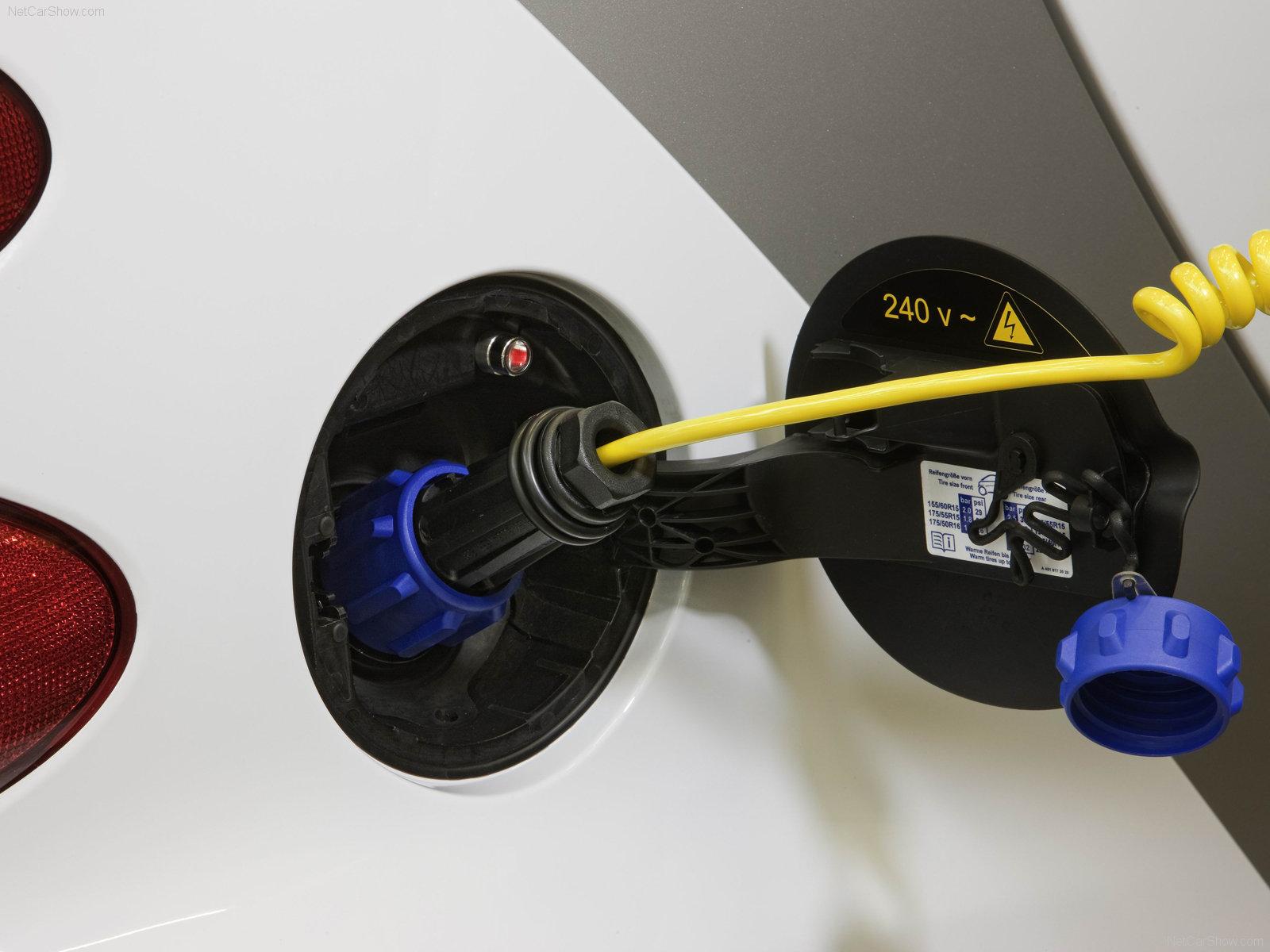 Hình ảnh xe ô tô Smart fortwo EV Concept 2009 & nội ngoại thất