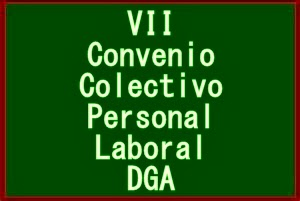 VII Convenio Colectivo Personal Laboral DGA