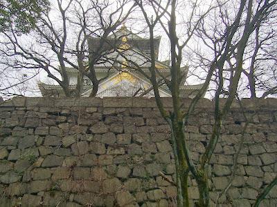 大阪城公園散歩 大阪城 石垣