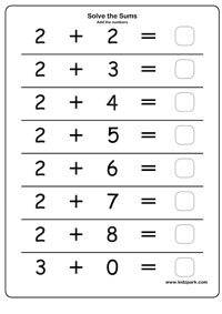 math worksheet : kids worksheets addition worksheets for kids : Addition Worksheets For Kids