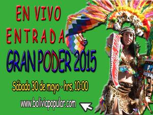 Gran Poder 2015 en vivo