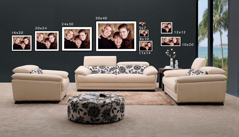 I see you beautiful sizing your portraits for the wall l for 12x12 living room furniture layout
