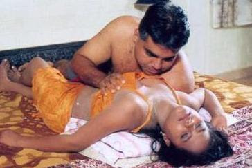 Bed press scene boob Tamil