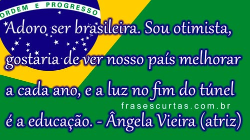 melhorar o Brasil através da Educação