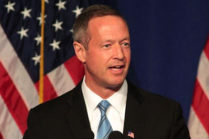 Maryland governor Martin O'Malley has expressed interesting in the US presidency for 2016