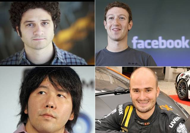 Facebook co-founder Dustin Moskovitz has occupied the top spot on the Forbes' youngest billionaires list, beating Facebook CEO Mark Zuckerberg. The list also includes Eduardo Saverin and Sean Parker from Facebook. Others featuring on the list are Hariri brothers, Scott Duncan and Yishikazu Tanaka.
