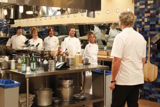 Foodie gossip september 2011 for Hell s kitchen season 15 episode 1
