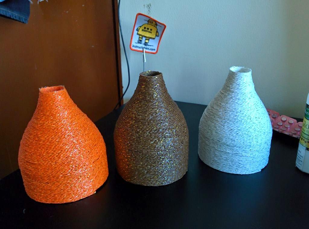 Своими руками ваза из плафона