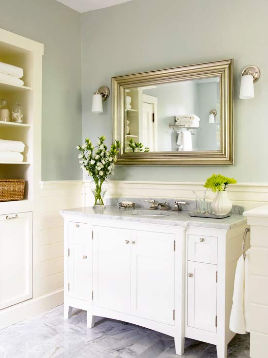 Better Homes And Gardens Bathrooms design in the woods: bathroom vanities and some apartment therapy