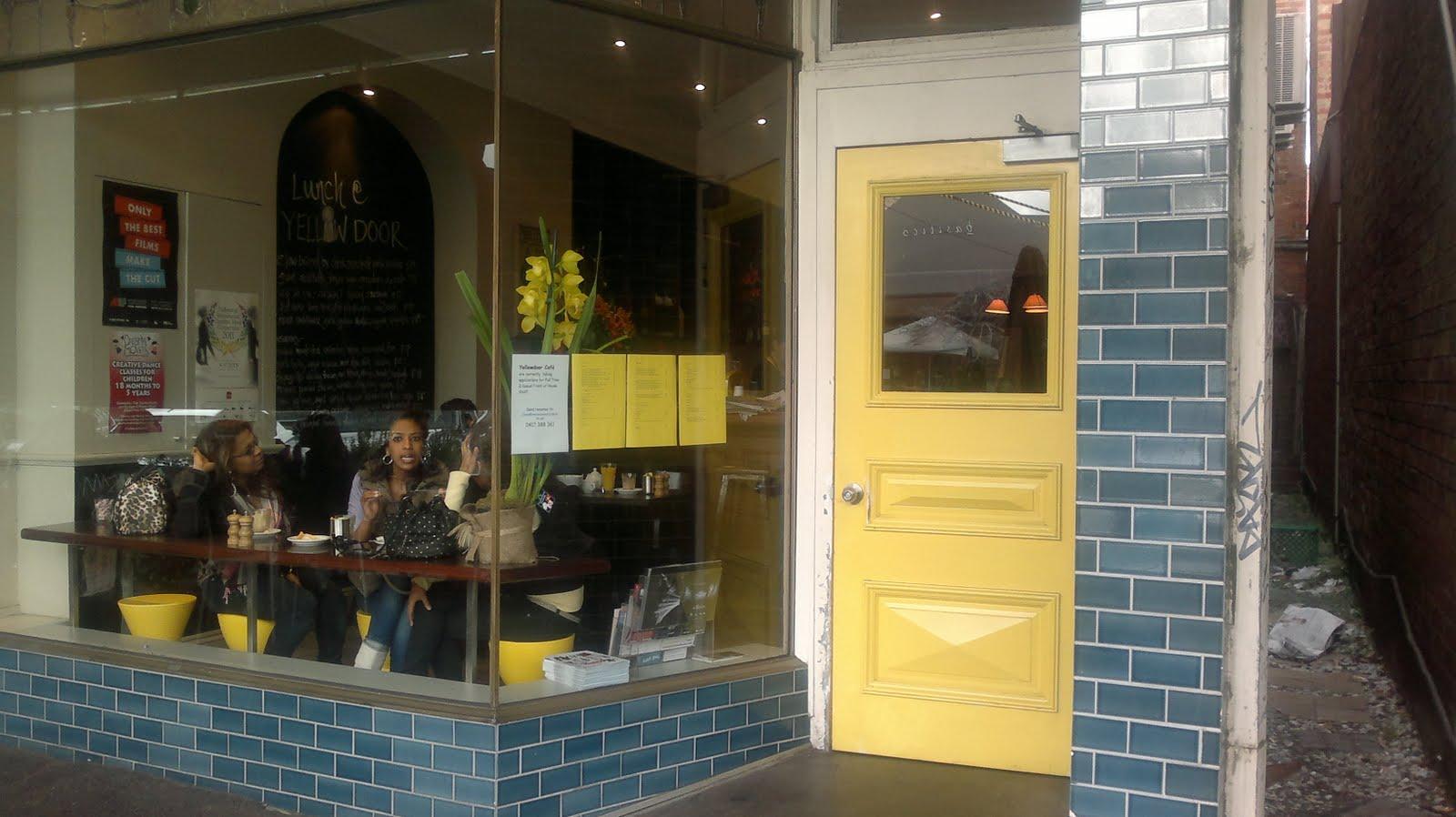Yellow Door Cafe Albert Park