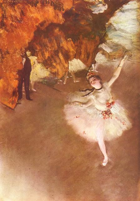 the star dancer,edgar degas,ballerina