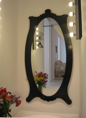 Los especialistas c mo colgar un espejo for Espejos en el salon